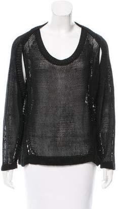 VPL Open Knit Long Sleeve Sweater