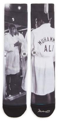 Men's Stance Muhammad Ali Print Socks $16 thestylecure.com