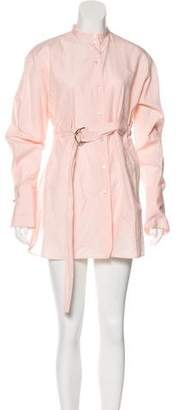 Celine Long Sleeve Shirt Dress