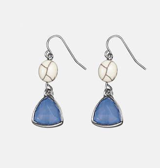 Avenue Blue Ivory Earrings