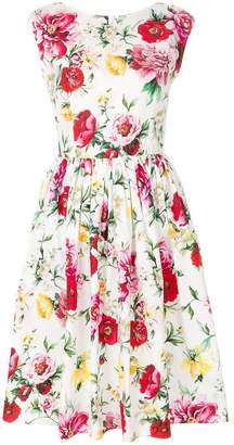 Dolce & Gabbana sleeveless floral dress