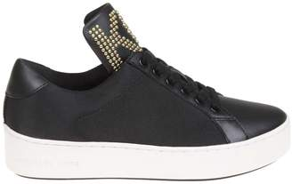 Michael Kors Sneakers Mindy In Canvas Black Color