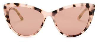 Brian Atwood Acetate Cateye Sunglasses