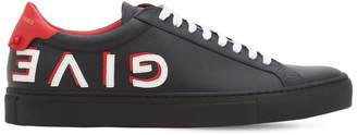 Givenchy Urban Street Leather Tennis Sneakers