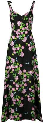 Cynthia Rowley Ten Rose maxi dress