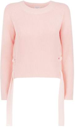 Claudie Pierlot Ribbed Knit Sweater