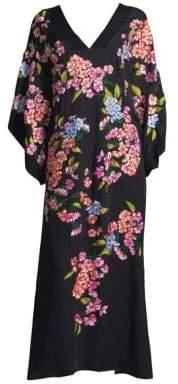 Natori Hanami Silk Kimono