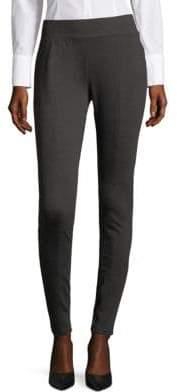 Saks Fifth Avenue BLACK Heathered Pull-On Pants
