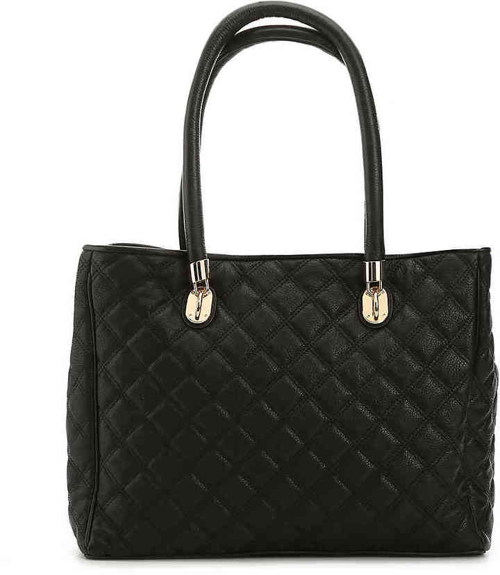 Cole Haan  Women's Benson Leather Tote -Black