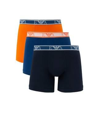 Emporio Armani 3 Pack Eva Band Boxer Shorts