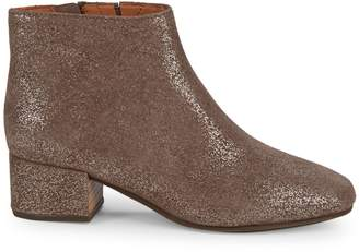 Gentle Souls Laina Sparkle Suede Booties