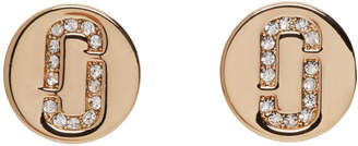 Marc Jacobs Gold Stud Earrings
