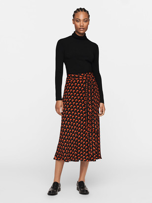 Diane von Furstenberg Jelena Two Turtleneck
