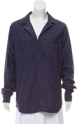 Rag & Bone Oversize Long Sleeve Blouse
