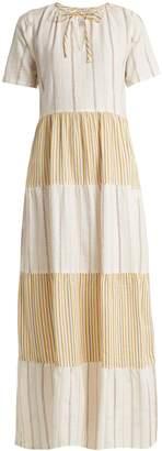 Ace&Jig Ambrosia panelled cotton maxi dress