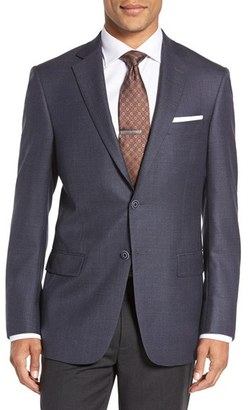 Hart Schaffner Marx Classic Fit Houndstooth Wool Sport Coat $495 thestylecure.com
