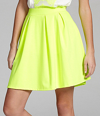 ING Neon Swing Skirt