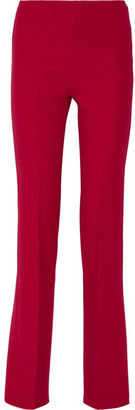 Theory - Demitria Stretch-wool Flared Pants - US4 $355 thestylecure.com