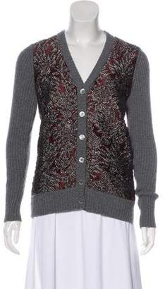Dolce & Gabbana Cashmere-Blend Button-Up Cardigan