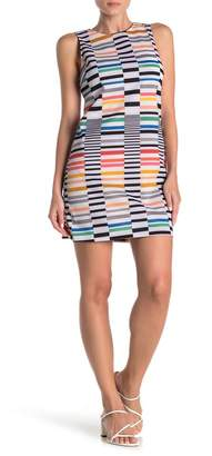 Love...Ady Multi Stripe Mini Shift Dress