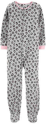 Carter's Girls Knit One Piece Pajama