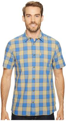 Fjallraven High Coast Big Check Shirt Short Sleeve Men's Short Sleeve Button Up