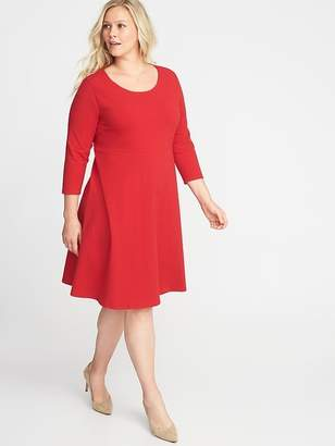 Old Navy Plus-Size Fit & Flare Dress