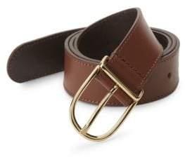 Saks Fifth Avenue Slim Leather Belt
