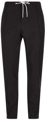 Kenzo Drawstring Pleated Trousers