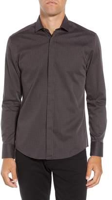 Vince Camuto Slim Fit Print Sport Shirt