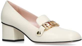 Gucci Leather Sylvie Pumps 55
