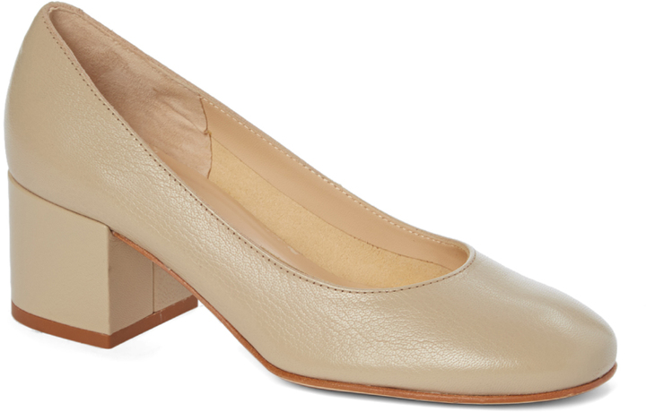 Amalfi By Rangoni Bone Torino Leather Pump