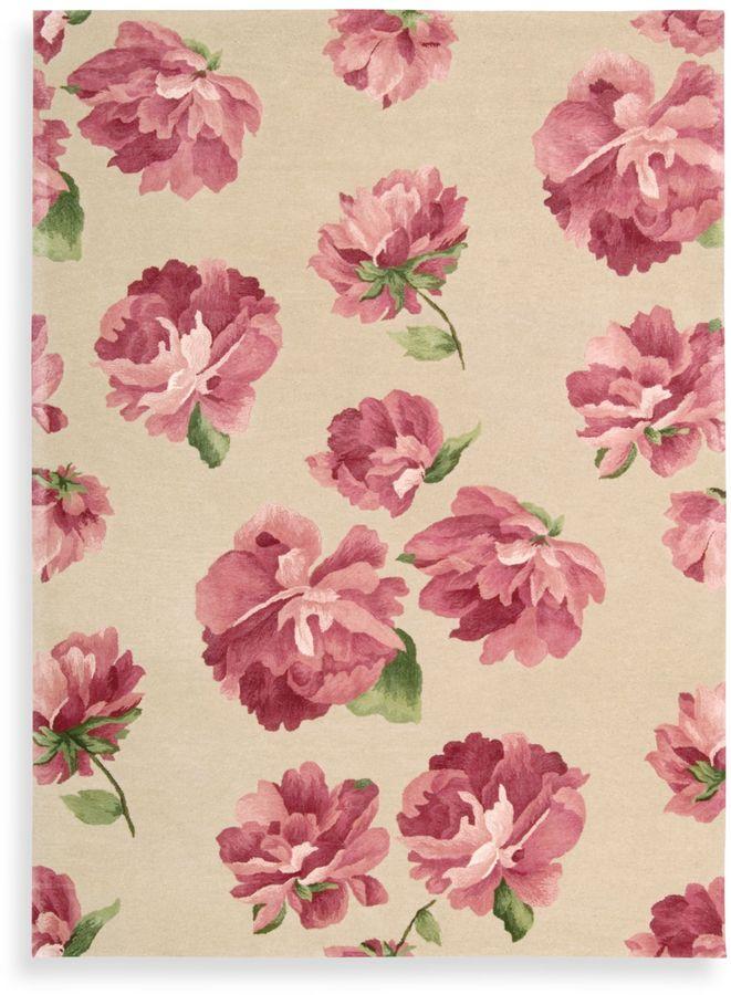 Nourison Modern Elegance Rug in Rose