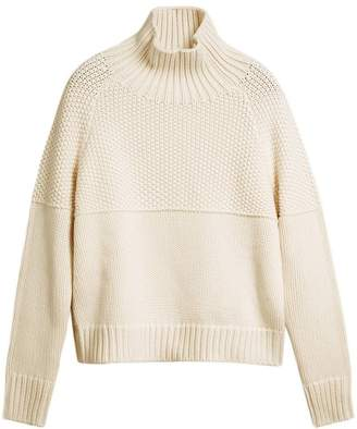 Burberry roll neck knitted jumper