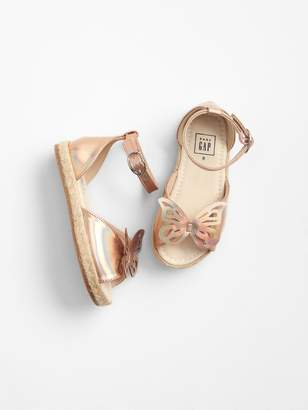 Gap Butterfly Espadrille Sandals
