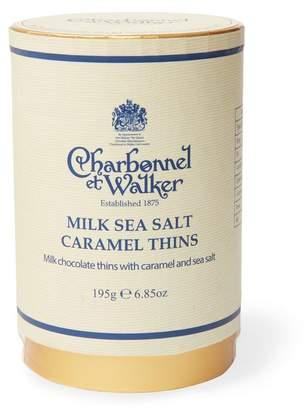 Charbonnel et Walker Milk Sea Salt Caramel Thins 195g