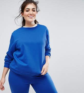 South Beach Plus Sweatshirt In Cobalt