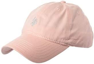 U.S. Polo Assn. Women's Lurex Embroidered Baseball Cap