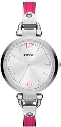 Fossil Women's Georgia ES3258 Stainless-Steel Quartz Watch with Dial