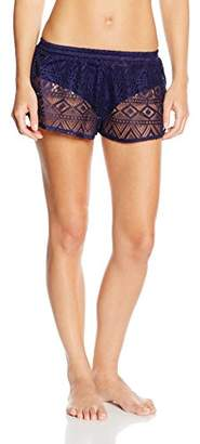 Marie Meili Women's Malibu Swim Shorts,Size 14 (Manufacturer Size:Large)