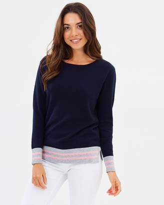 Striped Band Sweater