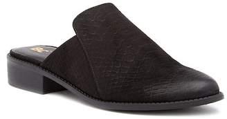 BC Footwear Ecstatic Lizard Stamped Mule