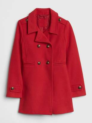 Gap Wool Double-Button Peacoat