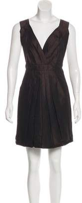 Marc Jacobs Sleeveless Pleated Dress