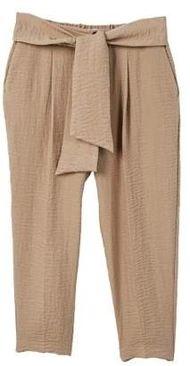 MANGO Bow belt trousers