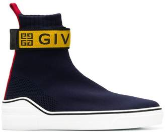 Givenchy logo sock sneakers