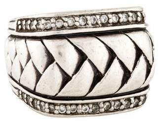 Scott Kay Diamond Woven Band