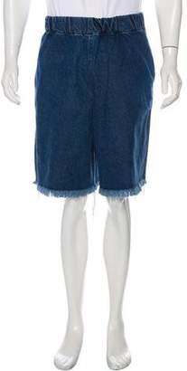 Marques Almeida Marques' Almeida Flat Front Shorts