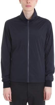 Ermenegildo Zegna Blue Technical Fabric Bomber Jacket