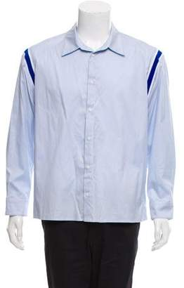Opening Ceremony Solid Button-UP Shirt